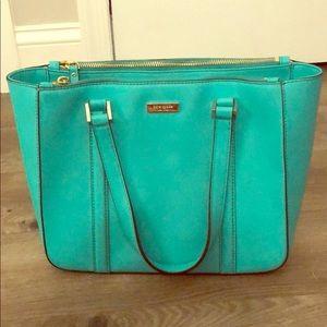 Kate Spade teal shoulder bag